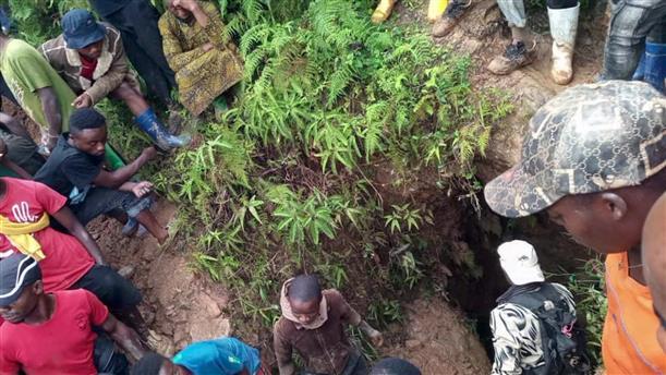 Κατάρρευση ορυχείου στο Κονγκό
