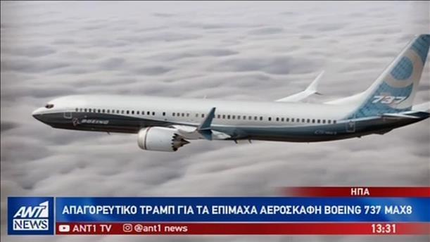 Καθηλώθηκε όλος ο στόλος της Boeing υπό τον φόβο νέας τραγωδίας