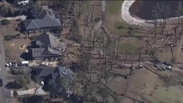 Καταστροφές από ανεμοστρόβιλο στην Οκλαχόμα