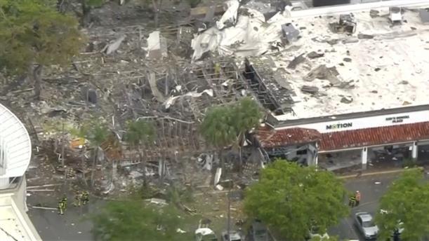 Ισχυρή έκρηξη στη Φλόριντα