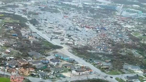 Καταστροφές από τον τυφώνα στις Μπαχάμες