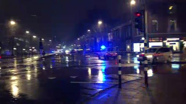 Ανταλλαγή πυροβολισμών στο Άμστερνταμ