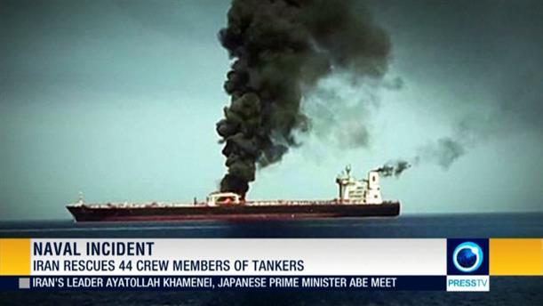 Επίθεση σε τάνκερ στον Κόλπο του Ομάν