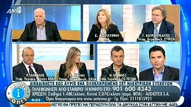 Πρωινό ΑΝΤ1 – Ενημέρωση - 15/04/2014