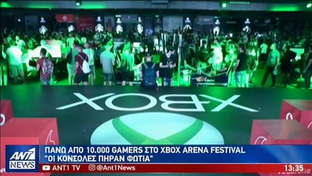 Ρεκόρ με 10000 gamers στο Xbox Arena Festival Sponsored by Vodafone