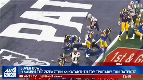 """Οι Πάτριοτ κατέκτησαν το """"στέμμα"""" του Super Bowl"""