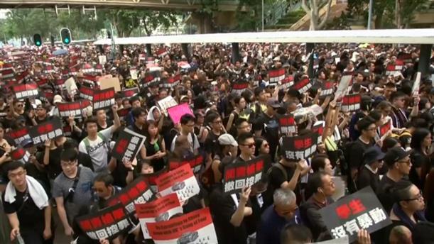 Διαδηλώσεις στο Χονγκ Κόνγκ