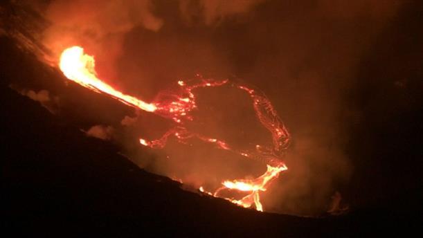 Έκρηξη ηφαιστείου στη Χαβάη