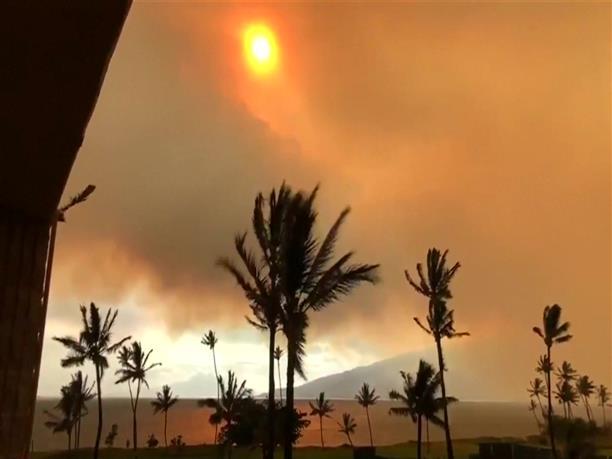 Στις φλόγες το Μάουι στην Χαβάη