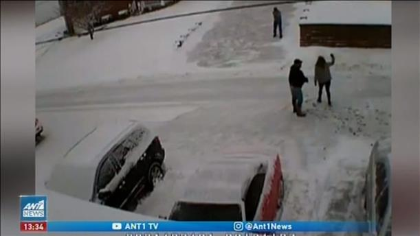 Σκληρές εικόνες: Σκότωσε τους γείτονες του για το… χιόνι στην αυλή!