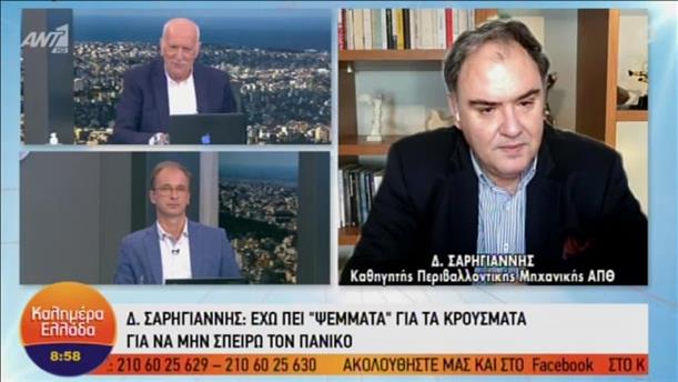 """Ο Δημοσθένης Σαρηγιάννης στο """"Καλημέρα Ελλάδα """""""