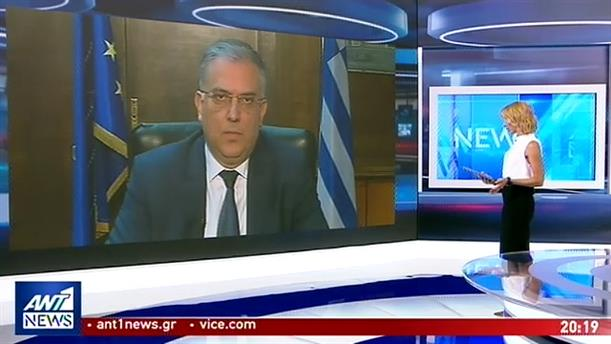 Ο Τάκης Θεοδωρικάκος στον ΑΝΤ1 για την τραγωδία με τον 19χρονο στη Χίο
