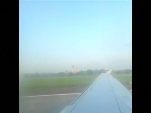 Ρωσία: Βίντεο μέσα από το αεροπλάνο που έκανε αναγκαστική προσγείωση