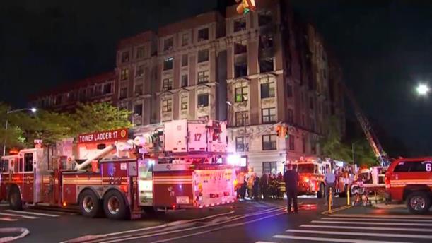 Φονική πυρκαγιά σε διαμέρισμα στη Νέα Υόρκη