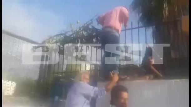 Επεισόδια ανάμεσα σε γονείς και μαθητές σε κατάληψη στο 6ο ΓΕΛ Καλαμάτας