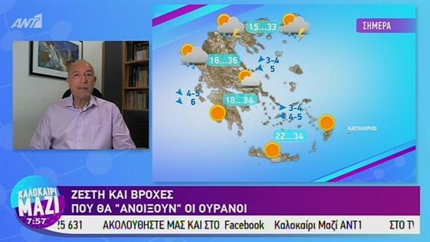 Καιρός - ΚΑΛΟΚΑΙΡΙ ΜΑΖΙ - 30/07/2019