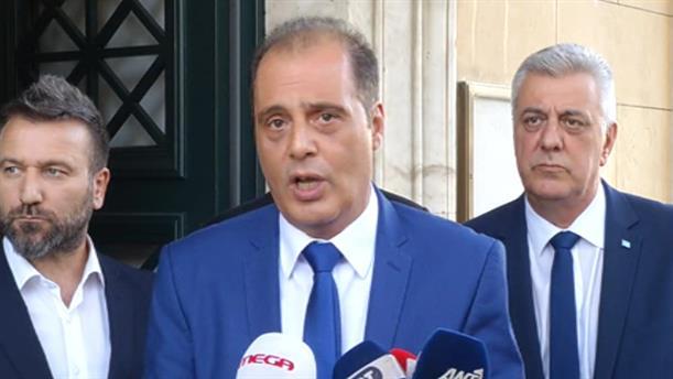 Δήλωση Κυριάκος Βελόπουλου μετά την συνάντησή του με τον Πρωθυπουργό