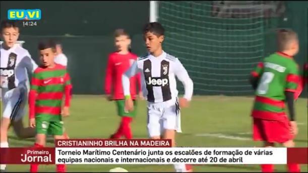 Ο γιος του Ρονάλντο σκόραρε επτά γκολ σε ένα ημίχρονο
