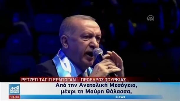 Ο Ερντογάν αυξάνει την ένταση με την Ελλάδα