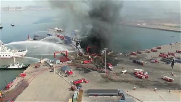 Έκρηξη σε φέρι μποτ στην Κίνα