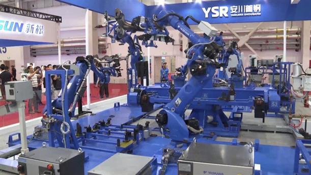 Η Κίνα παρήγαγε σχεδόν το 40% των ρομπότ παγκοσμίως το 2018