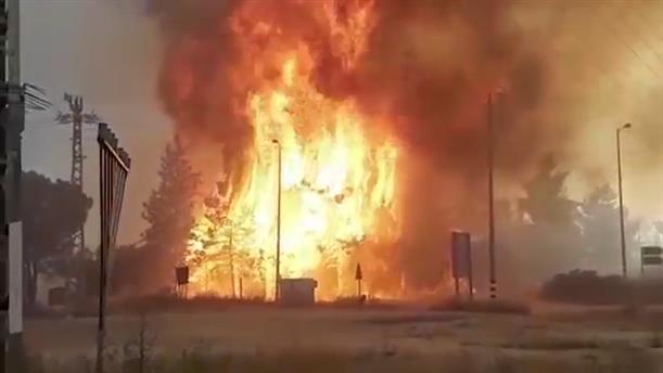 Καταστροφικές πυρκαγιές στο Ισραήλ