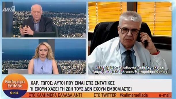 Ο Χαράλαμπος Γώγος στο «Καλημέρα Ελλάδα»