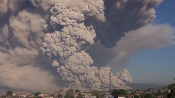 Έκρηξη ηφαιστείου στην Ινδονησία
