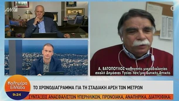 Α. Βατόπουλος  – ΚΑΛΗΜΕΡΑ ΕΛΛΑΔΑ – 24/04/2020