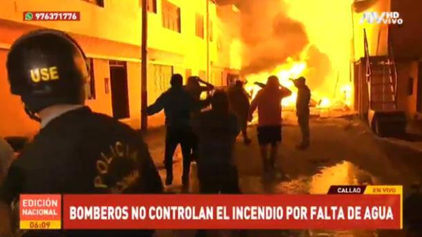 Πυρκαγιά έκανε στάχτη εκατοντάδες σπίτια στο Περού
