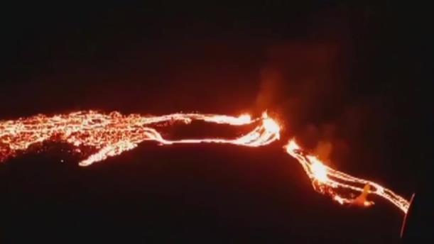 Έκρηξη ηφαιστείου στην Ισλανδία