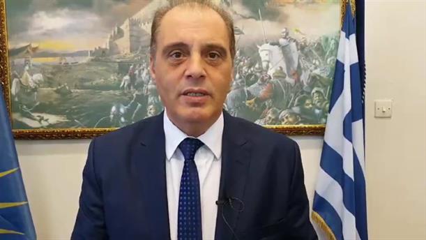 Δήλωση Βελόπουλου για την συμφωνία με την Ιταλία και για το Καστελόριζο