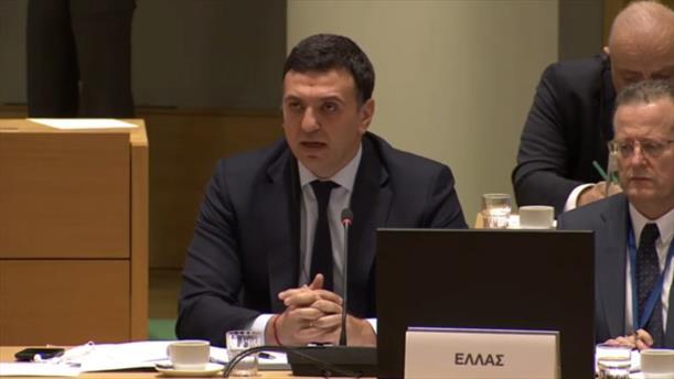 Ομιλία Βασίλη Κικίλια στο Συμβούλιο Υπουργών Υγείας της Ε.Ε.
