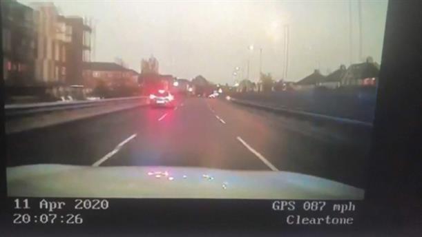 Κορονοϊός: Αυξήθηκαν οι παραβάτες του ορίου ταχύτητας στο Λονδίνο