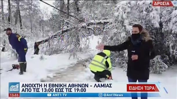 «Μήδεια» Χωρίς ρεύμα πολλές περιοχές στην Ελλάδα