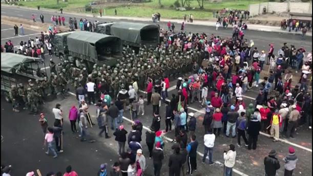 Νεκρός στις διαδηλώσεις στο Εκουαδόρ