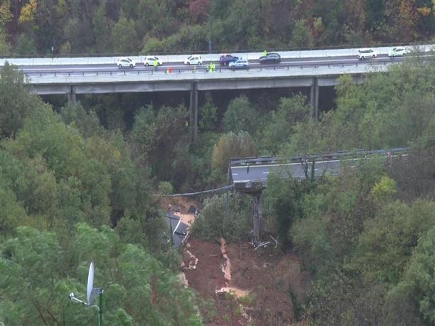 Κατέρρευσε γέφυρα στην Ιταλία