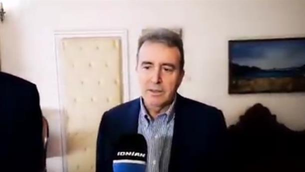 Χρυσοχοΐδης: Είμαστε εδώ για να επαναφέρουμε την Ζάκυνθο στην κανονικότητα