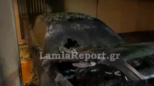 Έκαψαν το αυτοκίνητο του πρώην Αρχιφύλακα των φυλακών Δομοκού