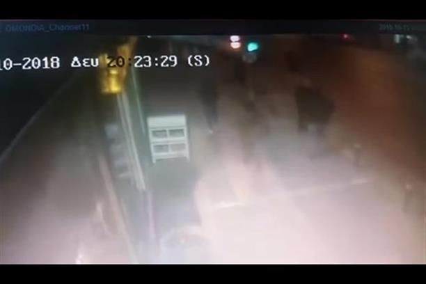 Βίντεο ντοκουμέντο από την στιγμή της επίθεσης στο ΑΤ Ομόνοιας