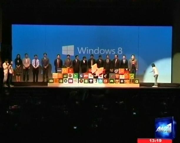 Στην Ταϊβάν παρουσιάστηκαν τα Windows 8