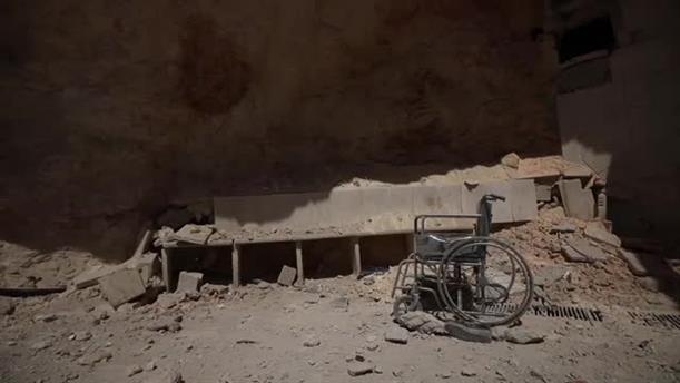 Βομβαρισμός νοσοκομείου στη Συρία