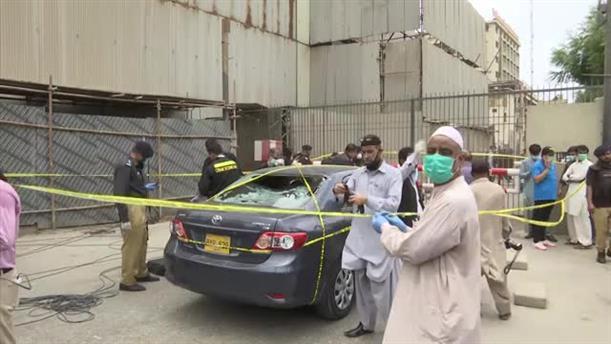 Πακιστάν?: Επίθεση στο Χρηματιστήριο στο Καράτσι