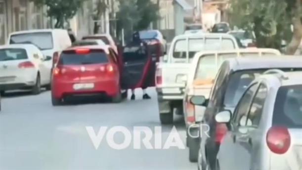 Θεσσαλονίκη: Βίντεο από τη ληστεία στη Χαλάστρα