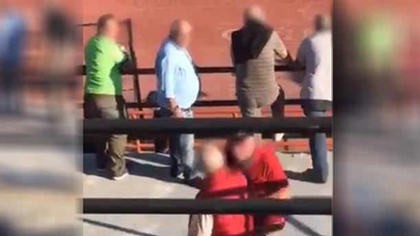 Καρέ – καρέ η τραγωδία με τον νεκρό φίλαθλο στο γήπεδο της Καλαμαριάς