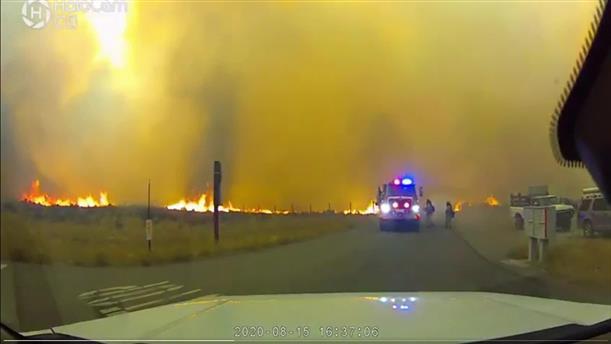 Mάχη με τις φλόγες στην Καλιφόρνια