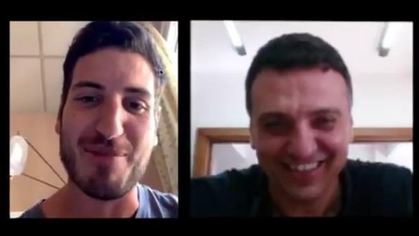 Ο Βασίλης Κικίλιας συνομίλησε με τον 25χρονο Πέτρο που πήρε εξιτήριο από το Ασκληπιείο Βούλας