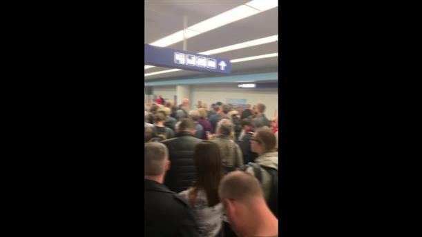 Χάος στο αεροδρόμιο του Σικάγο