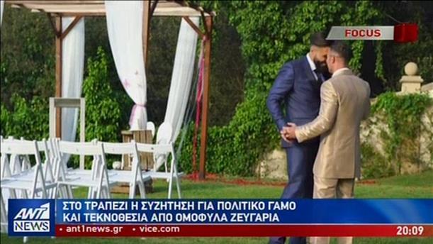 Έρευνα του ΑΝΤ1 για τον πολιτικό γάμο και την τεκνοθεσία από ομόφυλα ζευγάρια