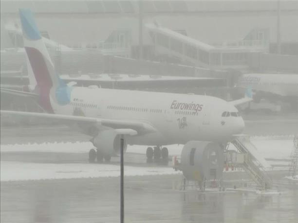 Ακύρωση πτήσεων από και προς το αεροδρόμιο του Μονάχου λόγω κακοκαιρίας
